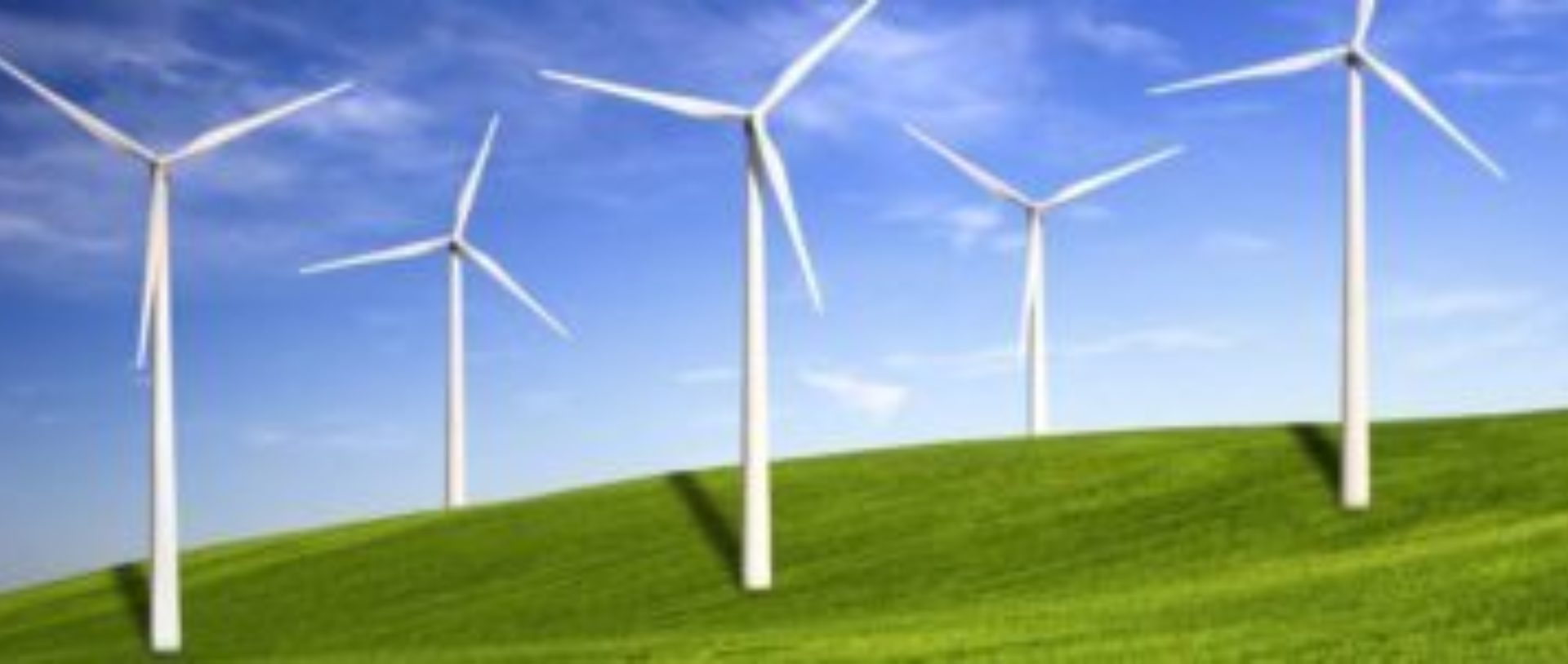 Windturbines groene energie